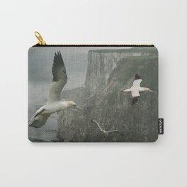 Gannets at Bempton Cliffs Carry-All Pouch