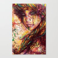 russian Canvas Prints featuring Russian braid by ururuty