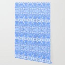 Shibori in Light Blue / Tie-Dye Mood Wallpaper