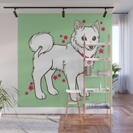Kiki Loves Azalea Wall Mural