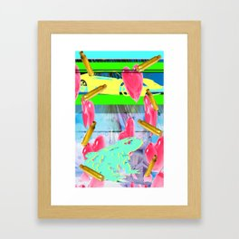 vacation vendetta Framed Art Print