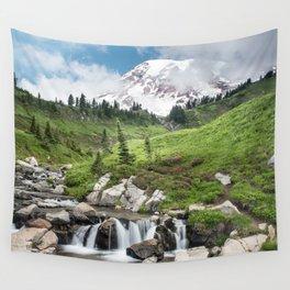 Mt. Rainier, Edith Creek Wall Tapestry