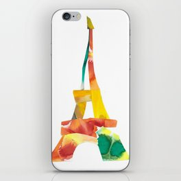 Colorful France iPhone Skin