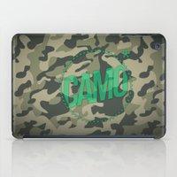 camo iPad Cases featuring Camo by GabrieleCigna