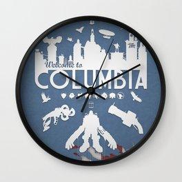 Welcome To Columbia - Bioshock Infinite (Variant) Wall Clock