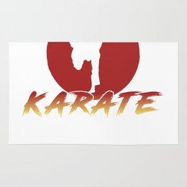Karate Fighting Present Gift Self Defense Rug