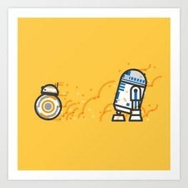 Go Faster!!! Art Print