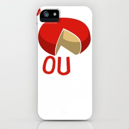 Up to No Gouda Cheese iPhone Case