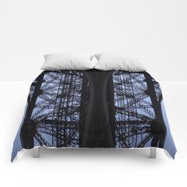 Eiffel Tower - Detail Comforters