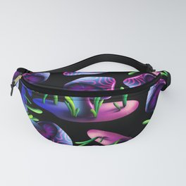 Exploring Hongoland Pattern Fanny Pack