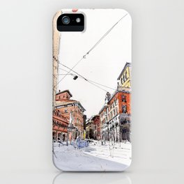 Bologna towers iPhone Case