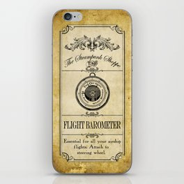 Steampunk Apothecary Shoppe - Barometer iPhone Skin