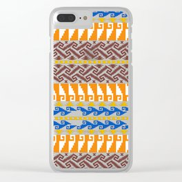 grecas de mitla Clear iPhone Case