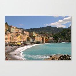 Camogli, Italy Canvas Print