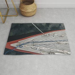 Boat in Still Waters No. 1 Rug