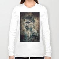winchester Long Sleeve T-shirts featuring Dean Winchester by Sirenphotos