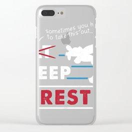 Eat Sleep Wrestle Gift Idea Wrestler Wrestling Coach graphic Clear iPhone Case