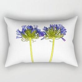 Agapanthus Cartoon Rectangular Pillow