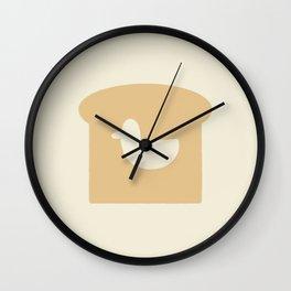 Duck in Bread Wall Clock