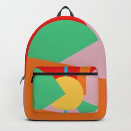 Circle Series - Summer Palette No. 4 Backpack