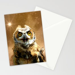 King of space Stationery Cards