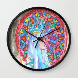CURSE of SLEEPING BEAUTY art Wall Clock