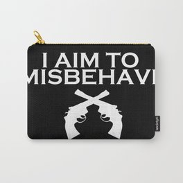 Aim to Misbehave V2 Carry-All Pouch