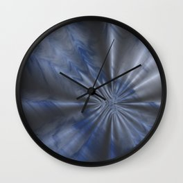 Creased Sky Wall Clock