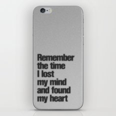 Remember The Time... iPhone & iPod Skin