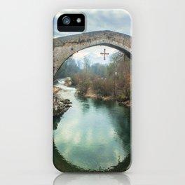 The hump-backed Roman Bridge iPhone Case