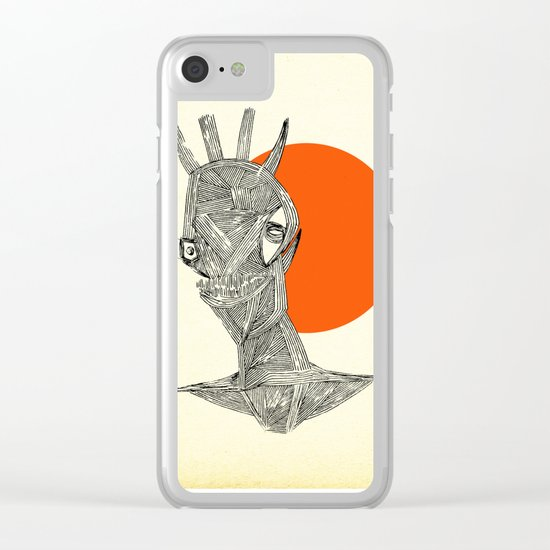 - halloween part 1 - Clear iPhone Case