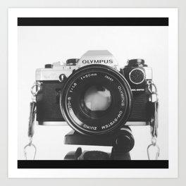 Olympus Camara Art Print