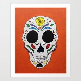 Sugar Skull #1  Art Print