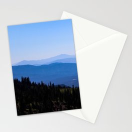 View From Mt. Shasta Stationery Cards