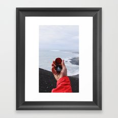 On with the Wanderlust - Find Your Way to Adventure Framed Art Print