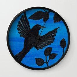 Flying Away Wall Clock