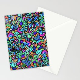Foral Stationery Cards