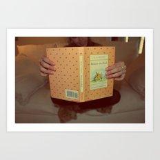 Winnie•the•Pooh Art Print