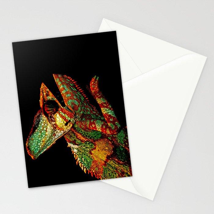KARMA CHAMELEON Stationery Cards