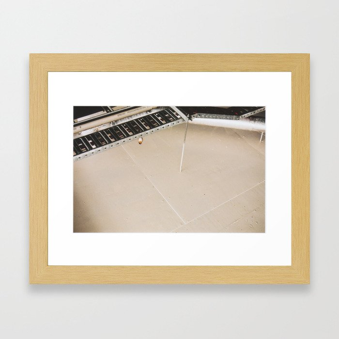Urban home. Framed Art Print