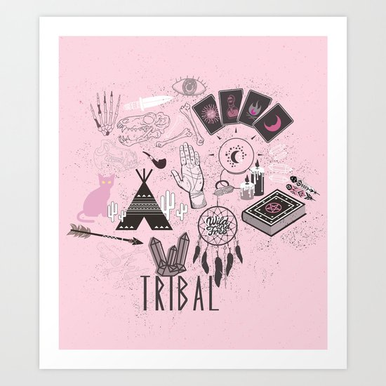 The gypsy Collection - Wild and Free Art Print