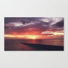 Portulano Sunset Canvas Print