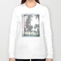tropical Long Sleeve T-shirts featuring tropical by ulas okuyucu
