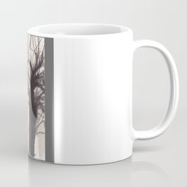 Tree Grid Coffee Mug