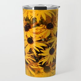 A Bed of Bloomin' Rudbeckias Travel Mug