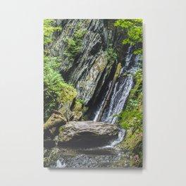 Tannery Falls, Savoy, MA Metal Print