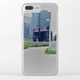 Long Island City Sign Clear iPhone Case