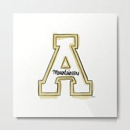 APP STATE Metal Print