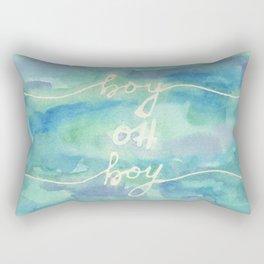 Boy Oh Boy Rectangular Pillow