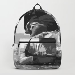 Catch A Wave Kitesurfing Vector Backpack